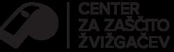 Center za zaščito žvižgačev logo temni