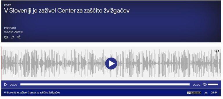 Pogovor na Radiu Agora